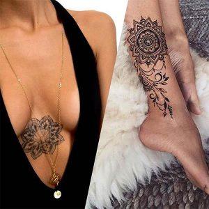 réaliser ses tatouages éphémères